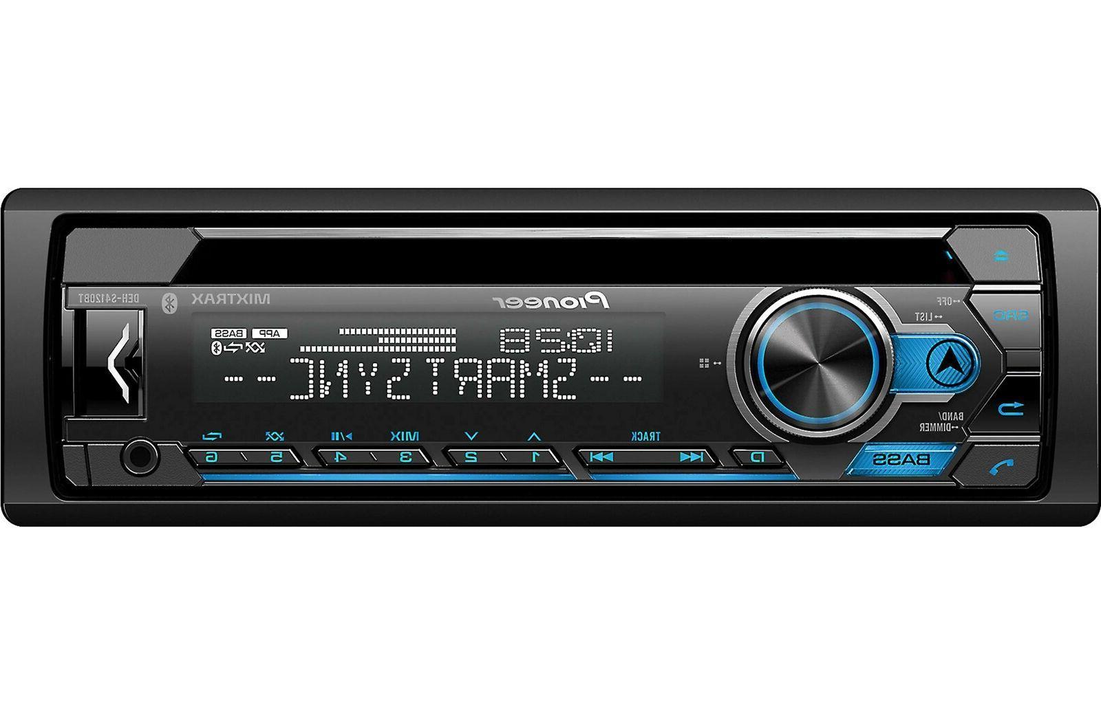 deh s4120bt 1 din bluetooth car stereo