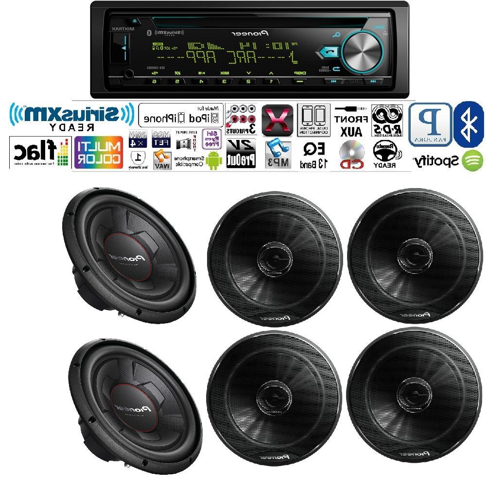 """Pioneer DEH-S6000BS Car Stereo 250W 6.5"""" Car Speakers with 1"""