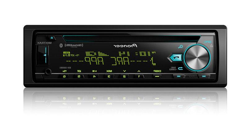 NEW Pioneer DEH-S6000BS Single DIN CD MP3 Bluetooth SiriusXM