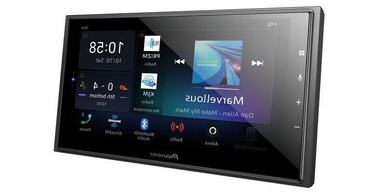 Pioneer DMH-W4600NEX 2 DIN Media Player Bluetooth CarPlay Auto