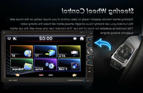 """Double 2 Din 7"""" Car Stereo MP3 Player Bluetooth"""