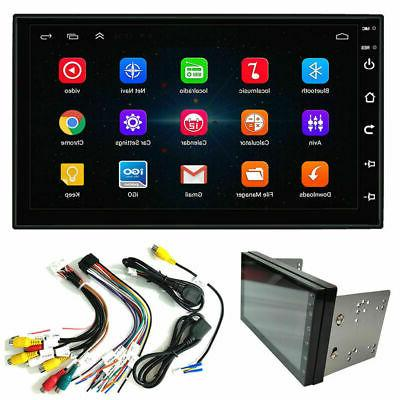 """7"""" Android 9.1 Double 2Din Car Stereo Radio GPS Wifi OBD2 Mi"""