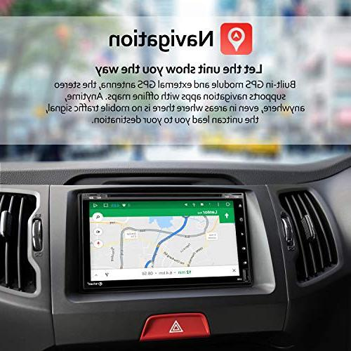 Double Stereo - inch 2GB 32 ROM CD Bluetooth WiFi GPS Navigation