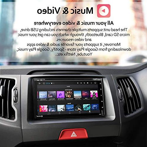 Double Stereo 7 inch Ram ROM Dash CD Bluetooth WiFi GPS