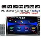 "Regetek Double Din Car Radio Stereo, 7"" In-Dash 1080P Touchs"