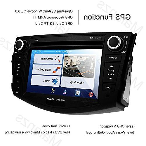 Double Din Stereo with Navigation Toyota Head 7 indash GPS Steering