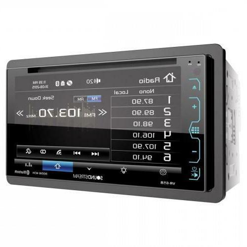 Soundstream Double DVD/CD/MP3 Player Bluetooth USB New