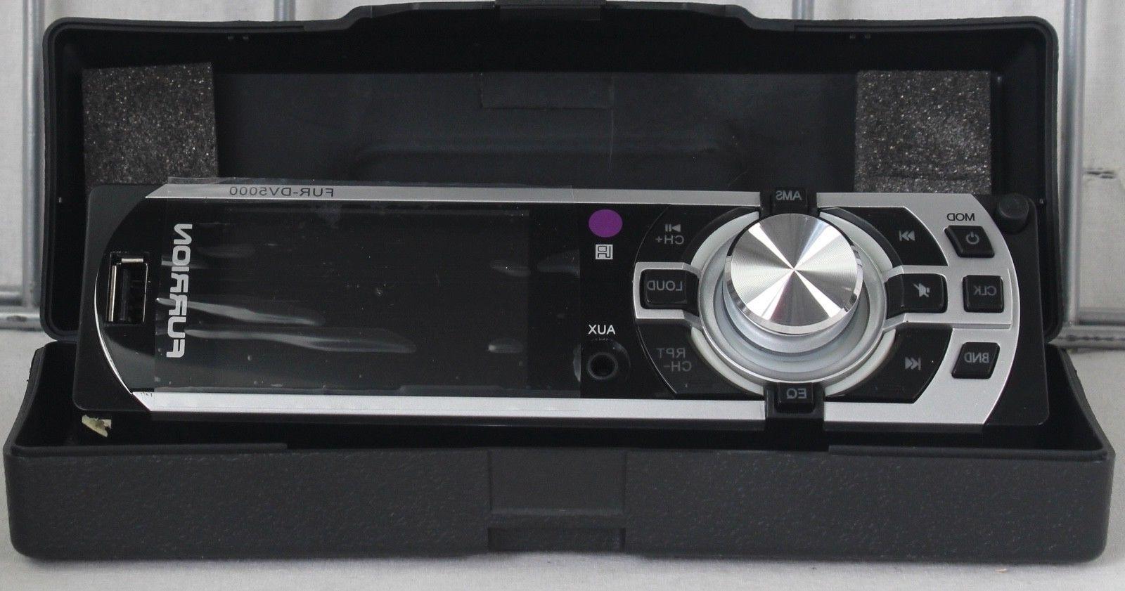 NEW DV5000 InDash AM/FM SD Player Flip Detachable Face