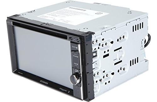 "Kenwood DDX395 6.2"" In-Dash Receiver, Camera SiriusXM Cache Universal Frame View"