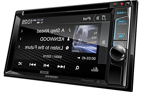 Kenwood eXcelon In-Dash Receiver, Inputs, SiriusXM Vision 170° Universal Car Frame Mount Rear Camera