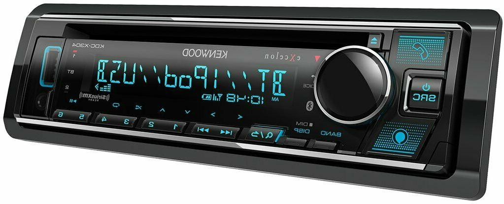 Kenwood Excelon Car Stereo CD with
