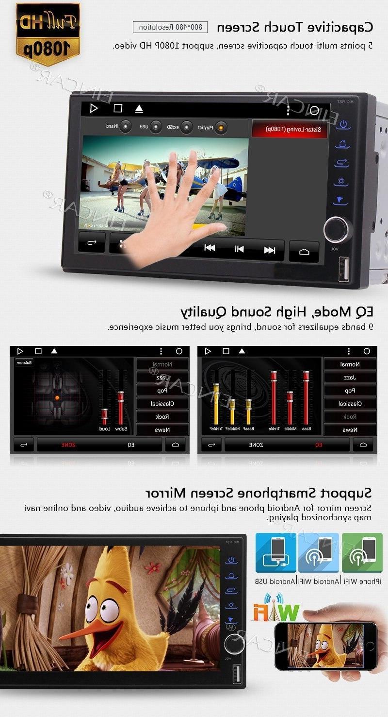 <font><b>Eincar</b></font> Head Unit <font><b>Car</b></font> GPS <font><b>Stereo</b></font> Support Wifi USB/SD+Camera