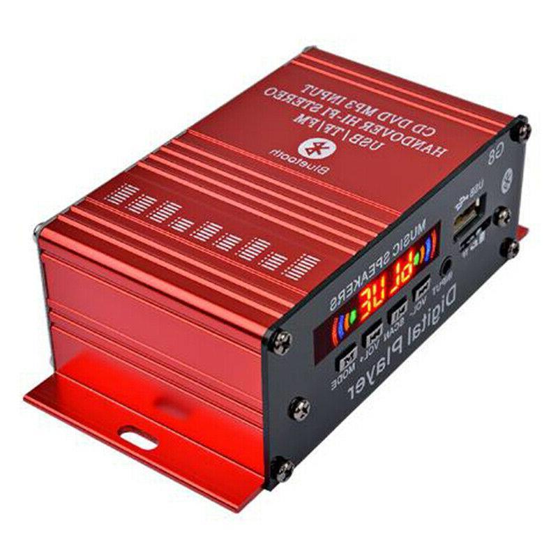 4 Digital Amplifier Stereo AUX F TBO