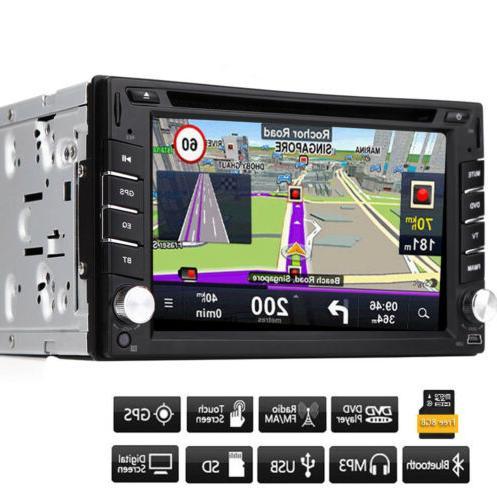 "HD Din 7"" Nav Stereo Radio Car CD Player"