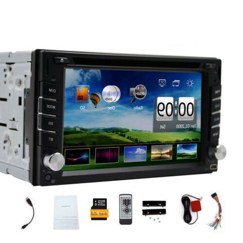 "HD 2 7"" Nav Stereo Car CD Player BT"