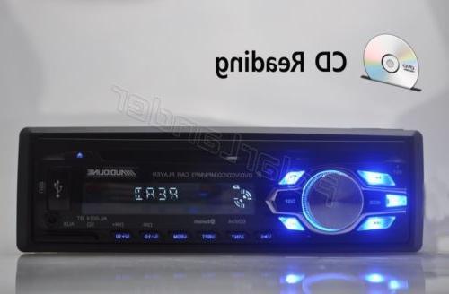 Single 1 Din DVD CD MP3 Radio In-dash FM
