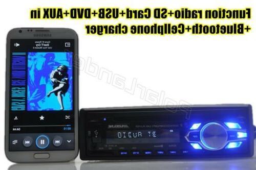 Single 1 DVD CD MP3 Radio USB/AUX/TF Stereo In-dash