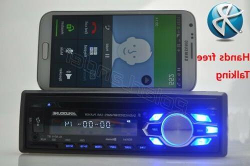 Single 1 DVD CD MP3 Radio Bluetooth Stereo In-dash