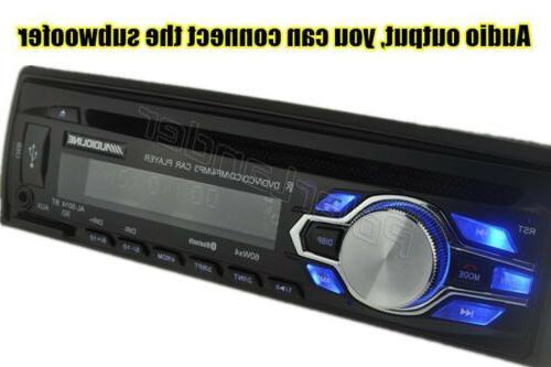 Single Din Car DVD CD MP3 Radio Bluetooth In-dash