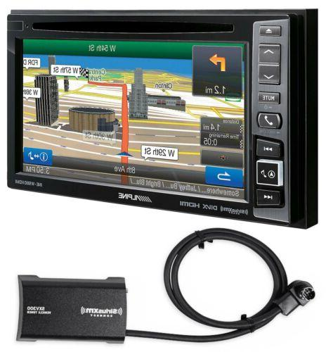 "ALPINE INE-W960HDMI 6.1"" CD DVD GPS BLUETOOTH NAVIGATION SIR"