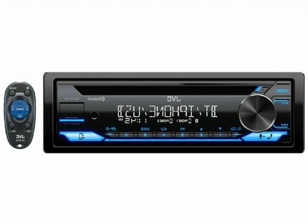 kd t711bt 1 din cd bluetooth usb