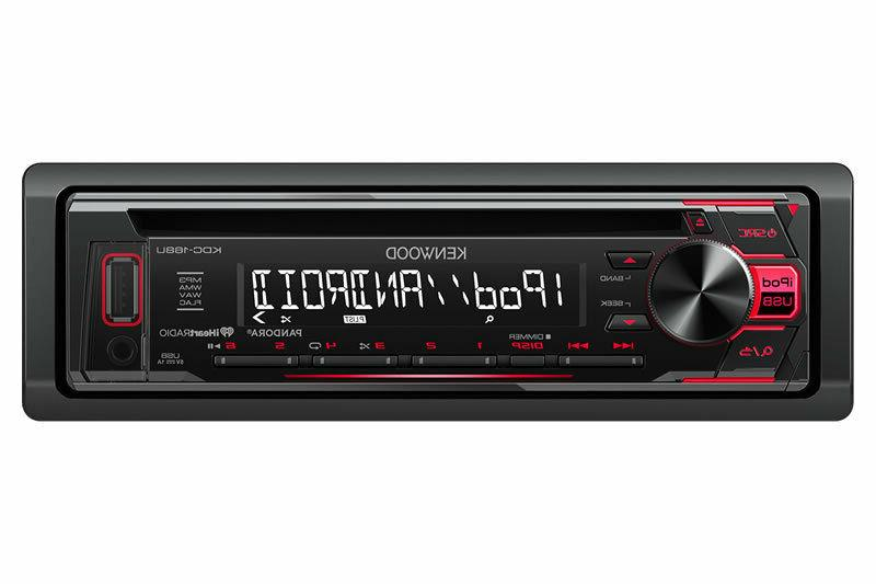 In-Dash Receiver Front USB and Aux