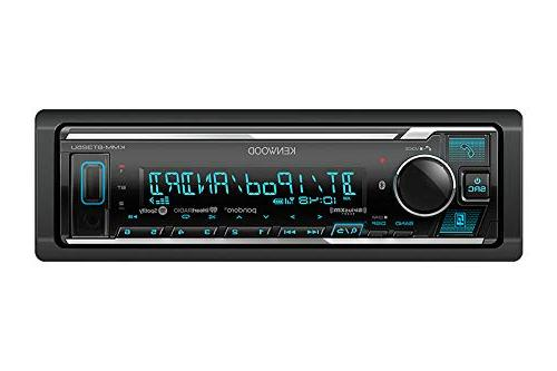 "Kenwood Bluetooth Stereo, Cd Am/fm Tuner KFC-1665S 6.5"" Speaker Black and 16 Gauge Wire"