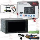 "JVC KW-V240BT CAR 6.2"" LCD DVD BLUETOOTH STEREO FREE CHROME"