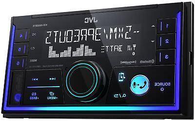 JVC KW-X830BTS 2-Din Digital Media Receiver featuring Blueto