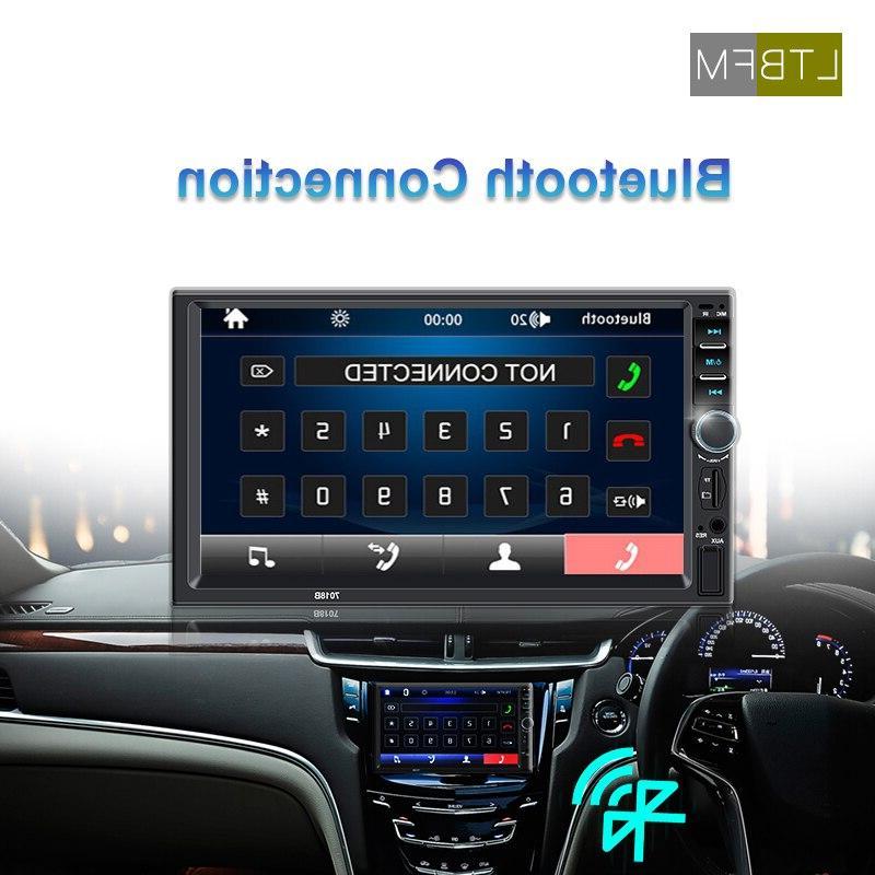 LTBFM Touch Screen <font><b>Din</b></font> <font><b>Car</b></font> Radio <font><b>Car</b></font> <font><b>Stereo</b></font> Radio Bluetooth Autoradio Player Auto USB