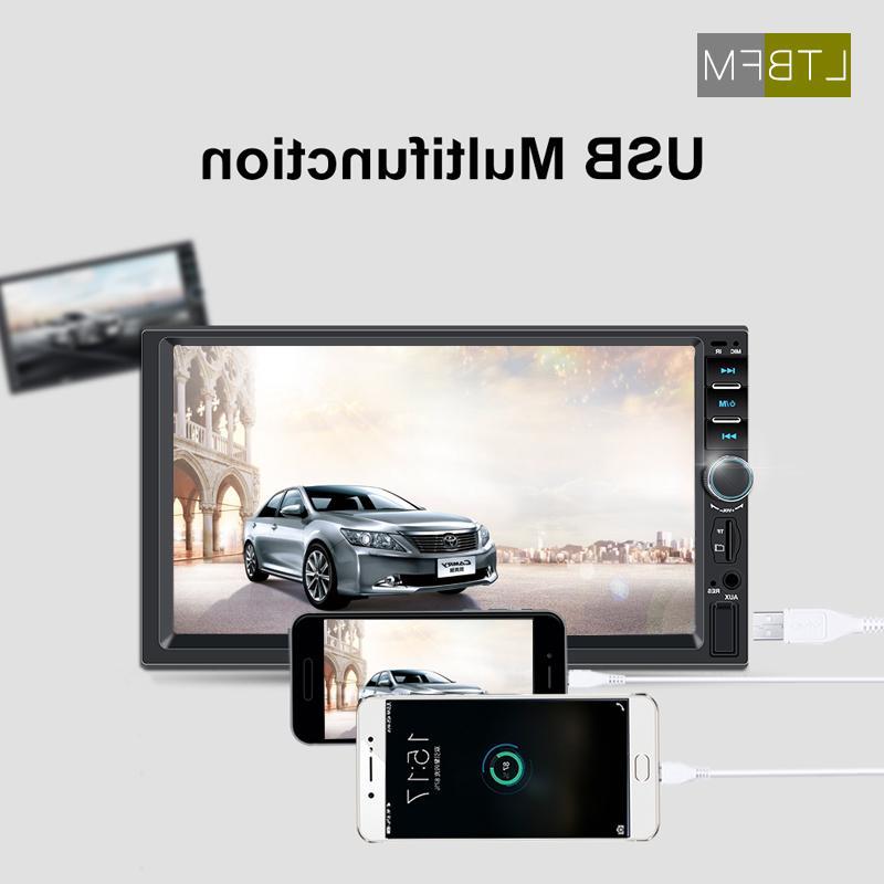 "LTBFM Screen <font><b>Din</b></font> <font><b>Car</b></font> 7"" <font><b>Car</b></font> <font><b>Stereo</b></font> Autoradio Multimedia Player Audio USB Camera"