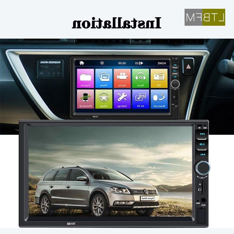 LTBFM Touch <font><b>Din</b></font> <font><b>Car</b></font> Autoradio Player USB