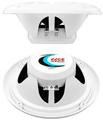 BOSS Audio Package, Marine , 6.5 Speakers,