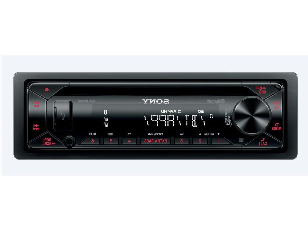 Sony MEX-N4300BT Single DIN Bluetooth In-Dash CD USB AM/FM C