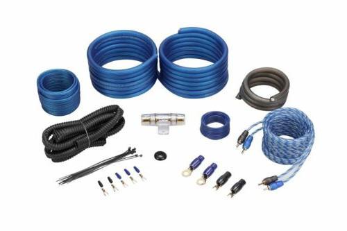 Rockville RWK41 4 Gauge Complete Car Amp Wiring Installation