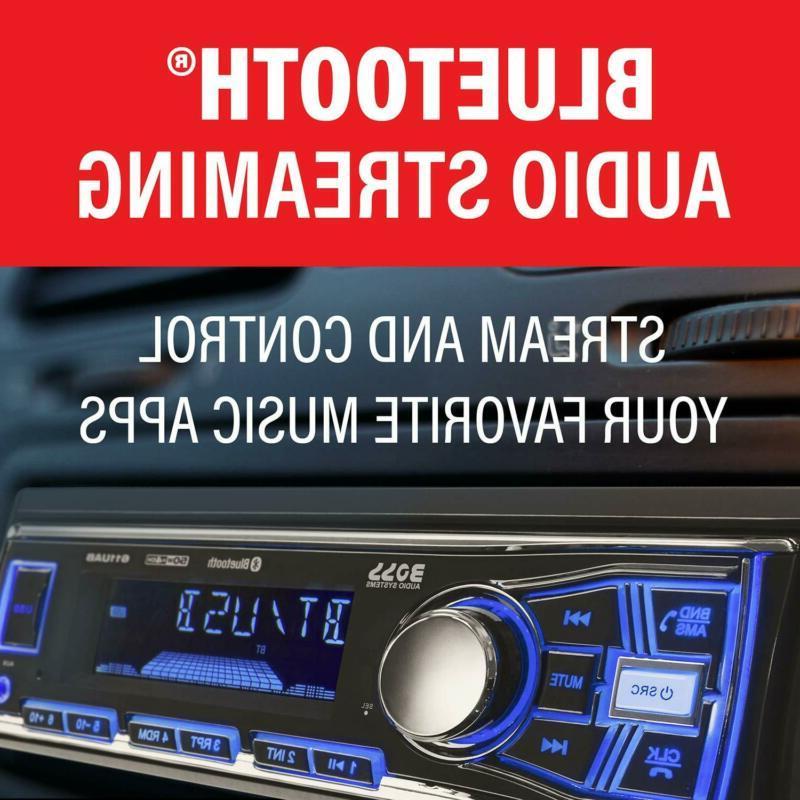 Boss Car Stereo-Single Din,Bluetooth