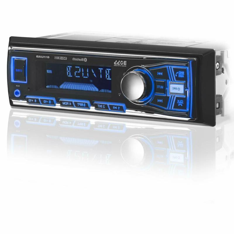 multimedia car stereo single din bluetooth audio