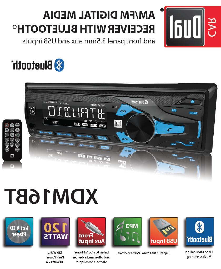 Dual Electronics XDM16BT High Resolution LCD Single DIN Car