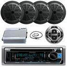 New Kenwood Marine Boat CD/MP3 iPhone Radio Player W/ Remote