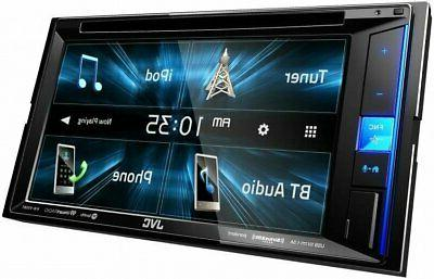 "NEW JVC KW-V25BT 6.2"" Touchscreen Double DVD Car Stereo"