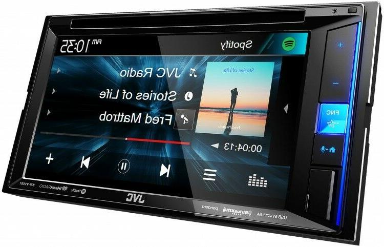 NEW KW-V25BT Touchscreen Double DVD Car