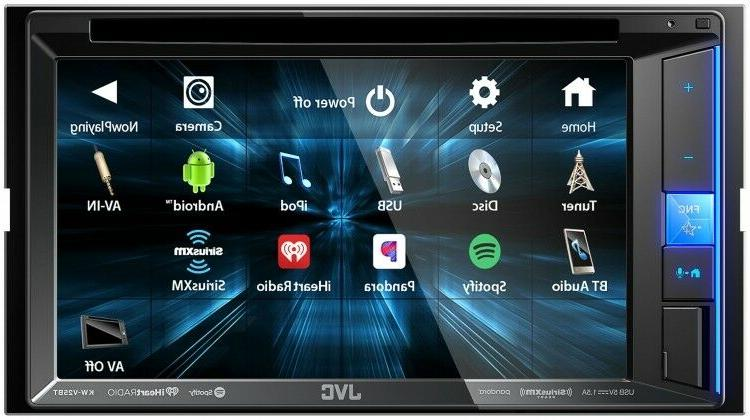 "NEW JVC KW-V25BT 6.2"" Touchscreen Din"