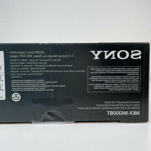 New Sony MEX-N4300BT Bluetooth Front AUX AM/FM Car Stereo Receiver