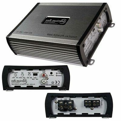 AMERICAN V2 Mono Car Power Amp Stereo