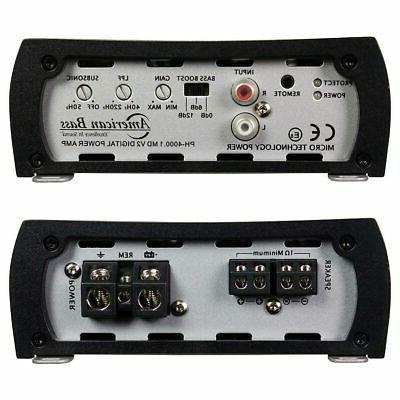AMERICAN V2 Car Amplifier Stereo 1