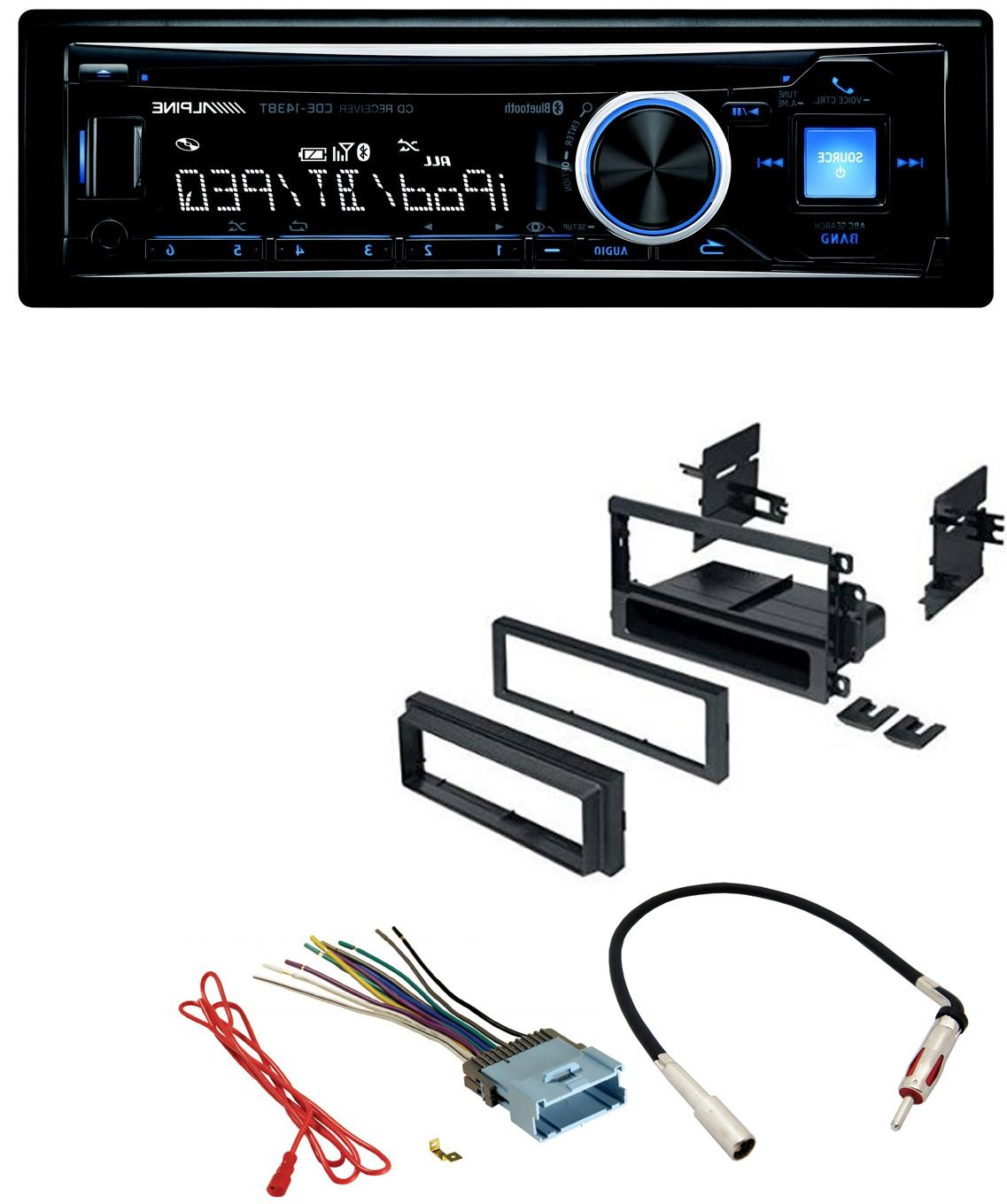 Alpine PKG Car Stereo Dash Kit Harness Antenna for GM GMC Ch