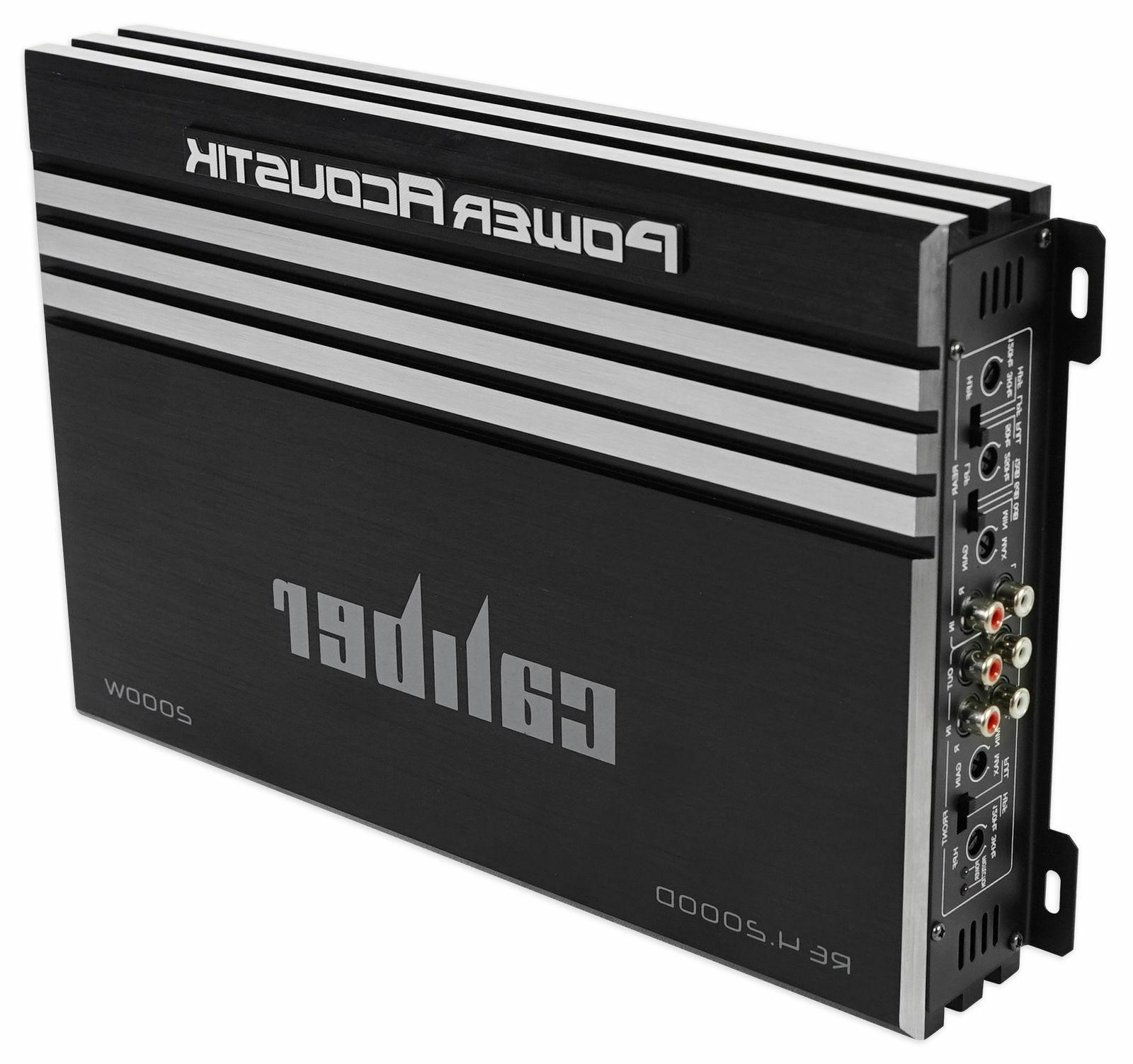 Power Watt 4-Channel Car Amplifier