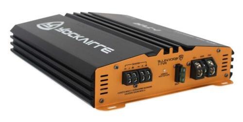 Rockville 2 Car Amplifier+Memphis Audio Amp Kit