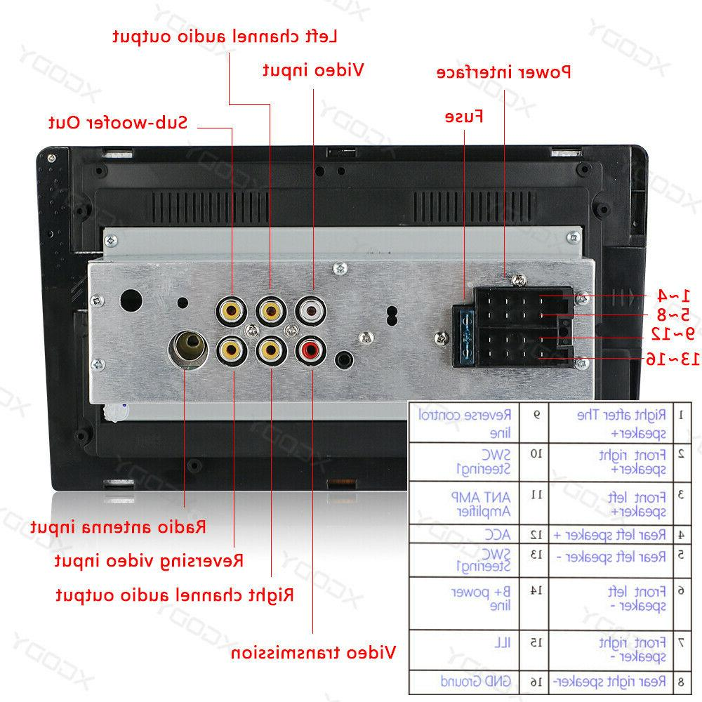 Single Car Touch Stereo BT In-Dash