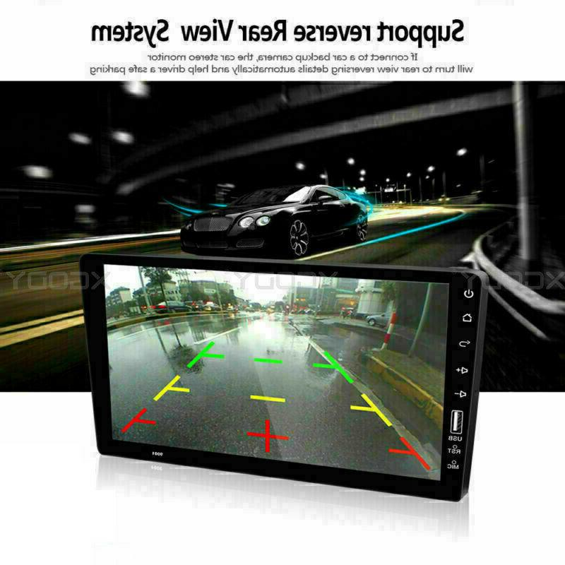 Single 1 Car FM/USB/AUX Player Touch Screen Stereo BT In-Dash